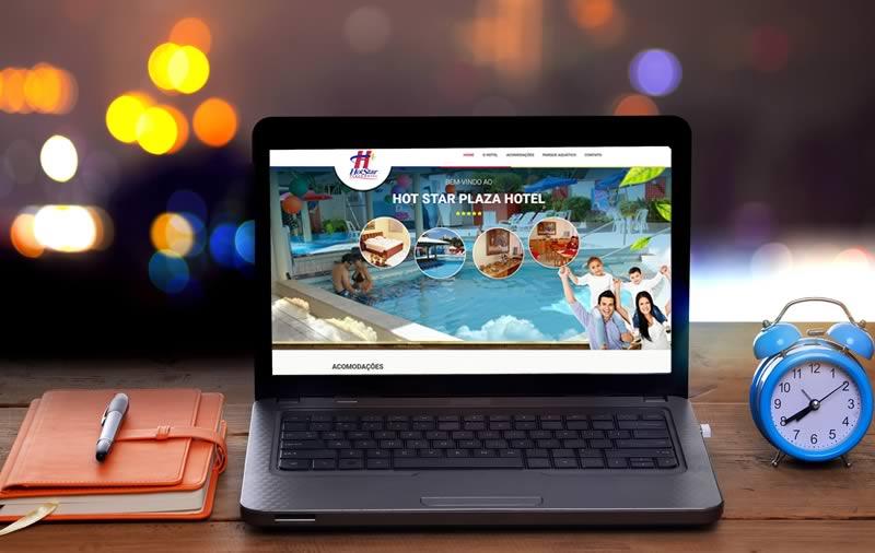 Criação de site - Hot Star Plaza Hotel
