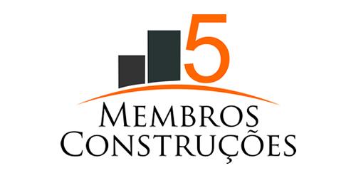 5 Membros Construções