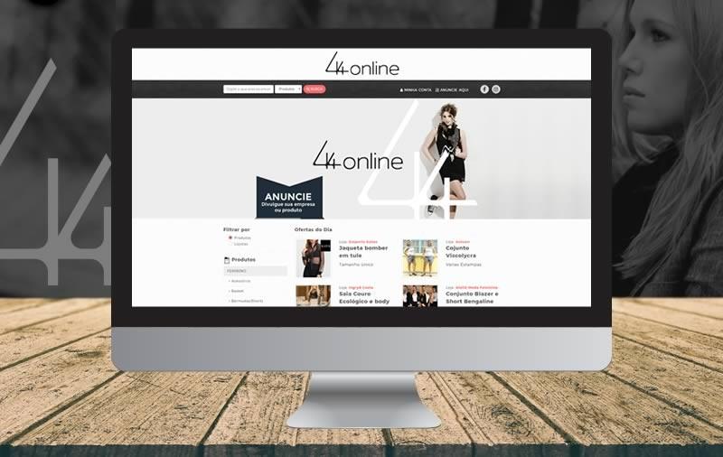 Design e Criação - 44 Online
