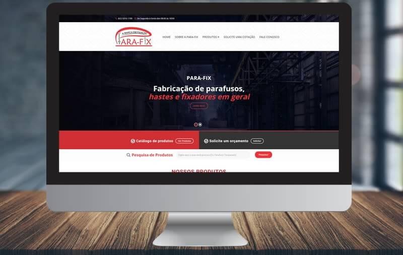Design e Criação - PARAFIX Industria e Comercio de Fixadores de Metal