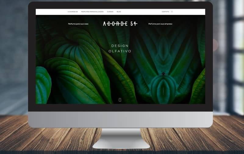 Design e Criação - ACORDE 54 Design Olfativo