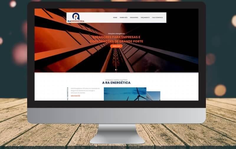 Design e Criação - RA Energetica Locações e Eventos