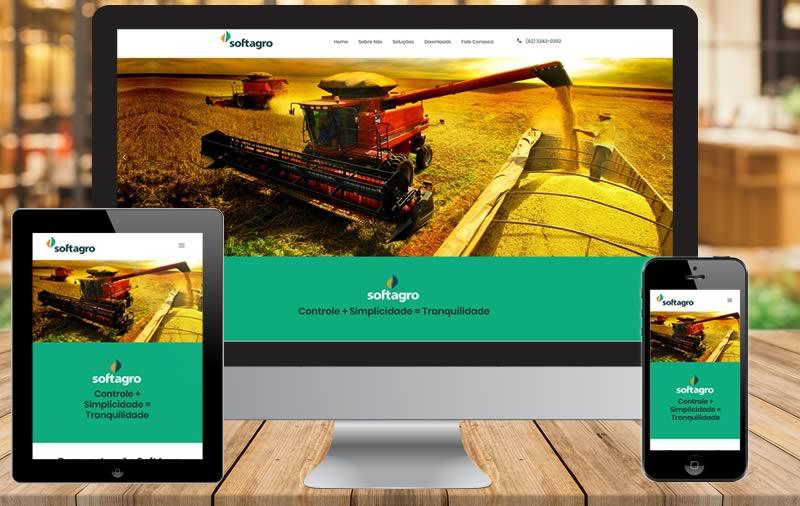Design e Criação - SoftAgro Sistemas de Gestão Agrícola