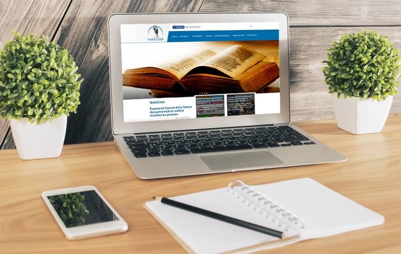 Criação de site - Paróquia Imaculada Conceição